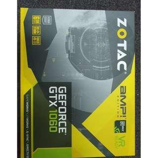 ZOTAC GeForce® GTX 1060 AMP! Edition 6G