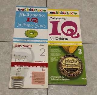 [Assessment Books] Bundle: Maths Olympiad Books