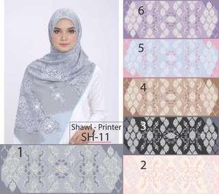 Ariani shawl copy ori