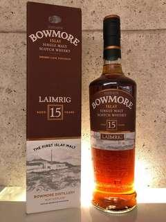 Bowmore Laimrig 15 Years Old Batch 4,Sherry Whisky  54.1%abv
