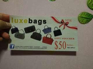 LUXE Bags Voucher