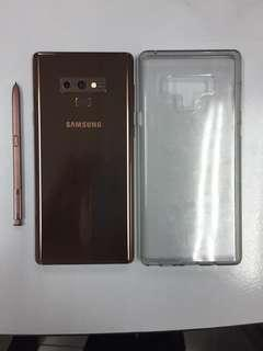 Note 9 (Bronze) + Samsung Dex (Warranty On)