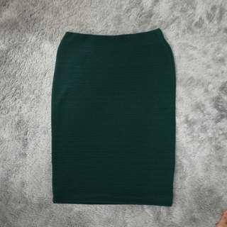 NEWLOOK Green Stretchy Skirt