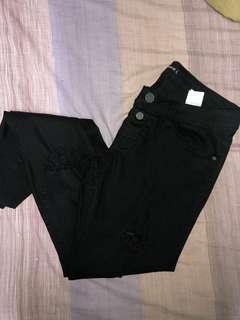 Terranova Black Ripped Jeans
