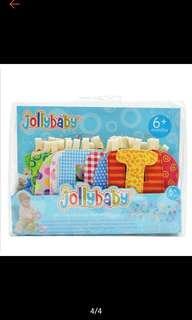 Jollybaby cloth alphabets