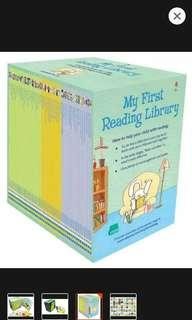 My first reading library (50 books)