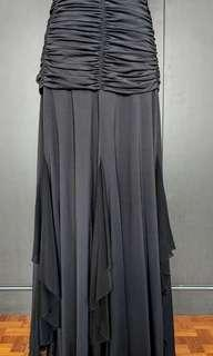 Latin / Ballroom Dance Skirt Black #3