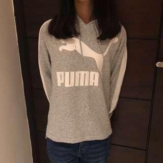 Puma 灰色帽T
