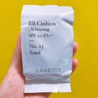 Laneige BB Cushion Whitening No 23 Sand Refill