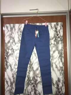 🚚 Stretchable Blue Pants