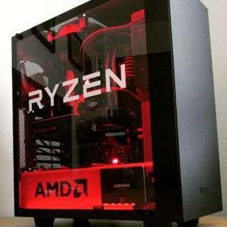 RYZEN 3 2200G + GTX1660 6GB CUSTOM GAMING PC