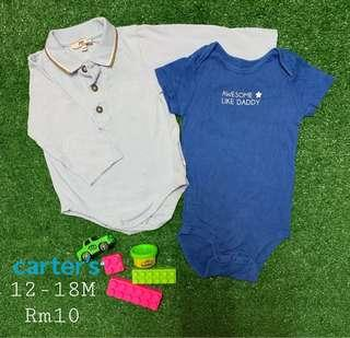 Carters Baby Rompers RM5 for 2pcs