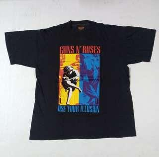 Vintage 90s Guns n roses band t-shirt