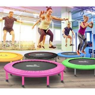 40 inch Blue Trampoline For Kids 200kg Jumper Adult Jumper Trampolin Kanak-Kanak