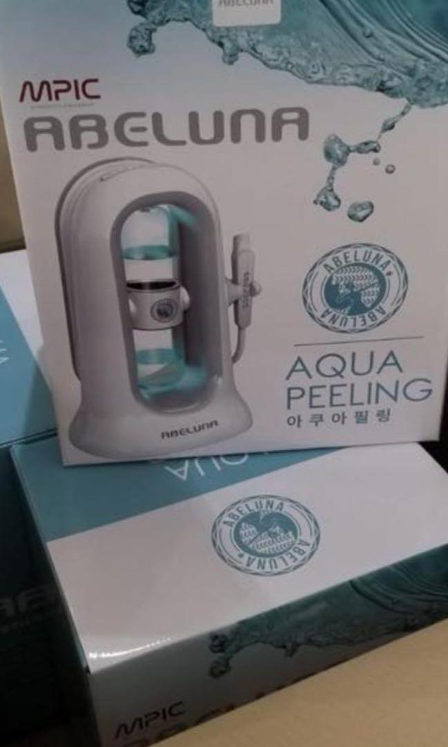 💯%韓國正貨 有保養  Abeluna Aqua peel 毛孔清潔儀