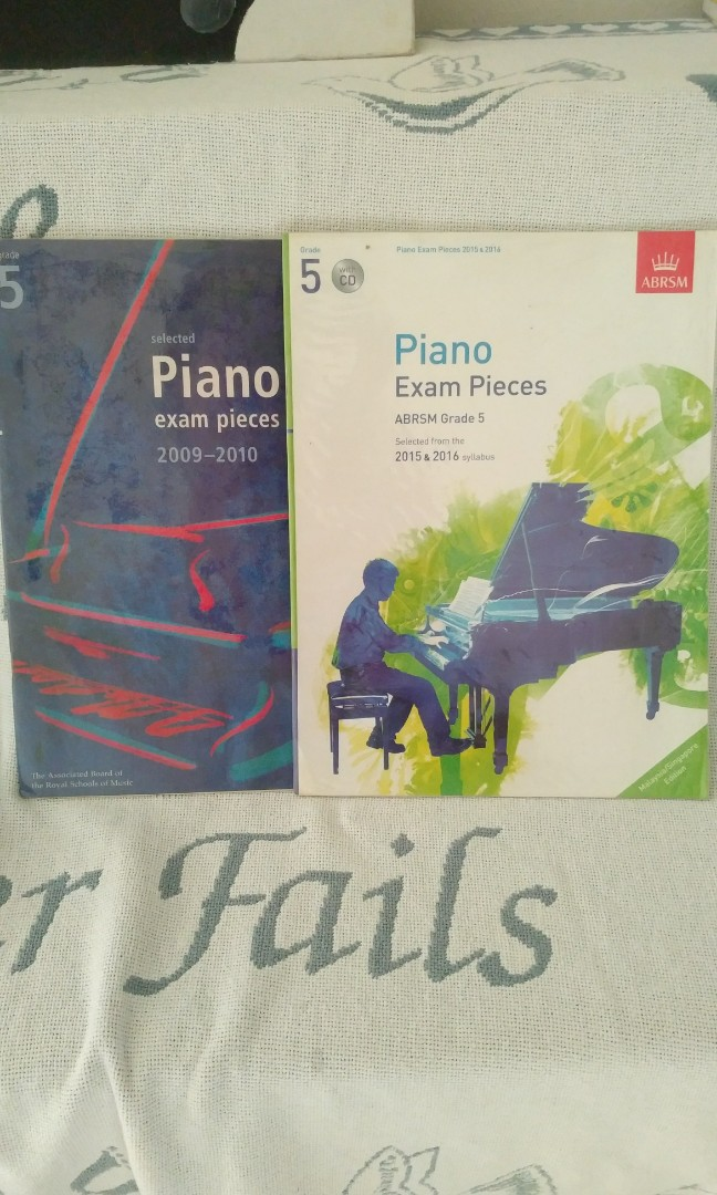 Grade 5 ABRSM Piano Exam Pieces ( Past Years )
