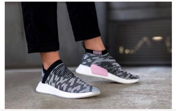 0e747a94 Adidas NMD CS2 City Sock PK W (Core black/Wonder Pink(, Women's Fashion,  Shoes, Sneakers on Carousell
