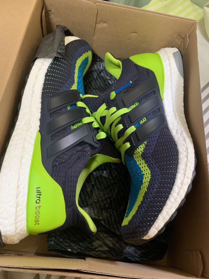 159feed2d7250 Adidas Ultra Boost 2.0 Slime