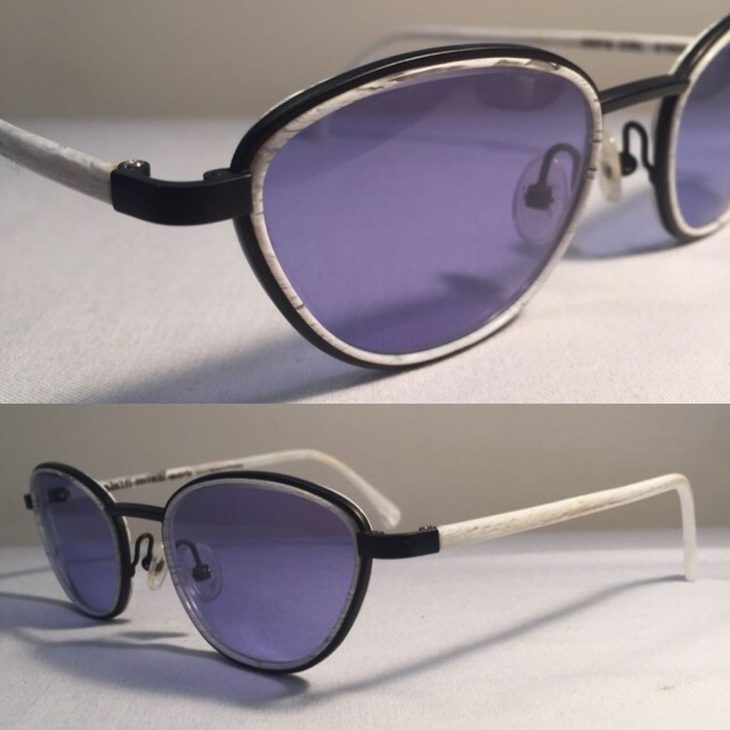 dea2f5a9a0db1 Alain Mikli Paris Reading Glasses Eyewear 2670 Cat Eye   Wht Marble ...