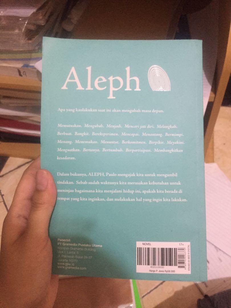 Aleph Novel Paulo Coelho