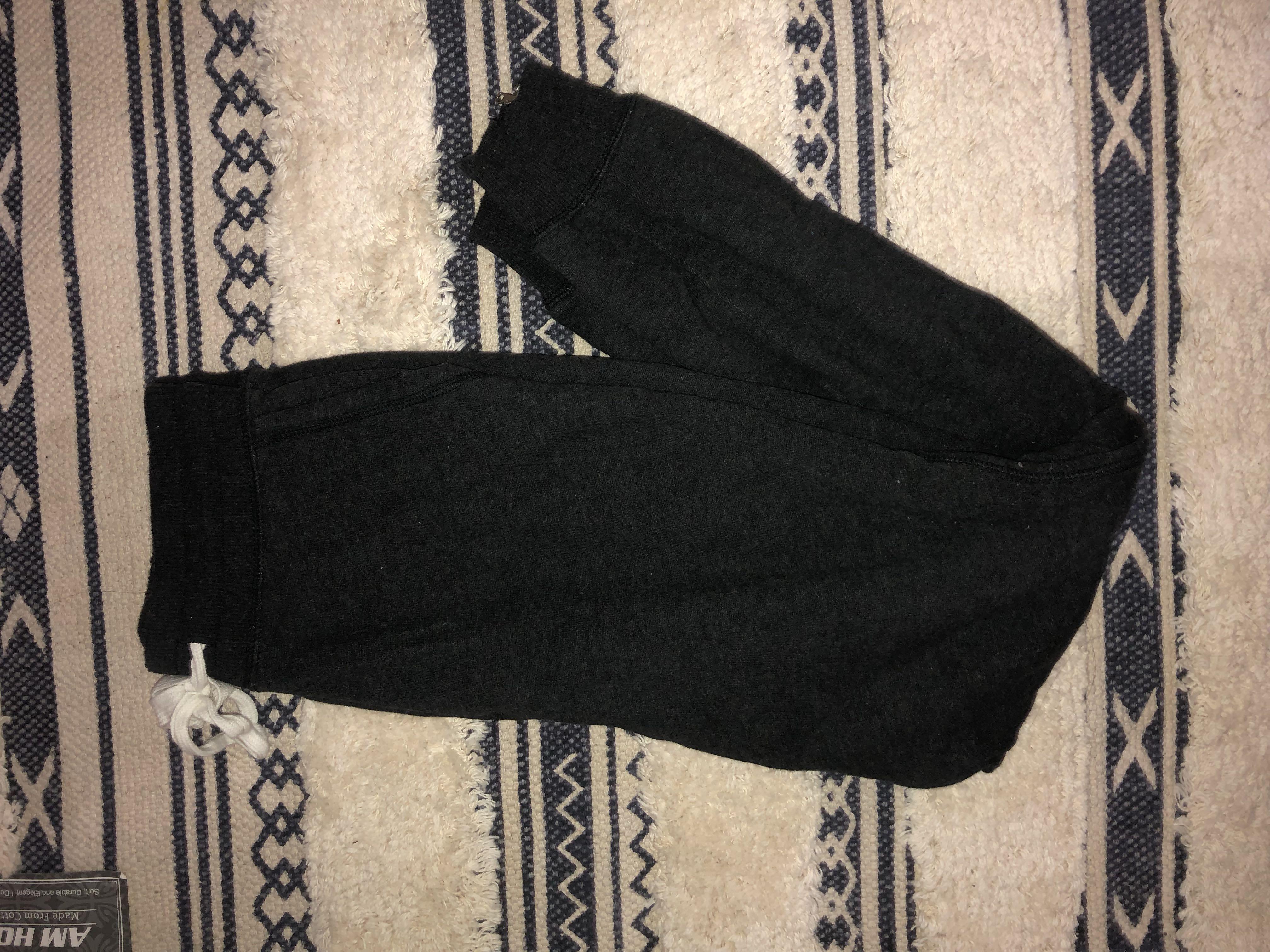 Arie jogger with zipper xs dark gray