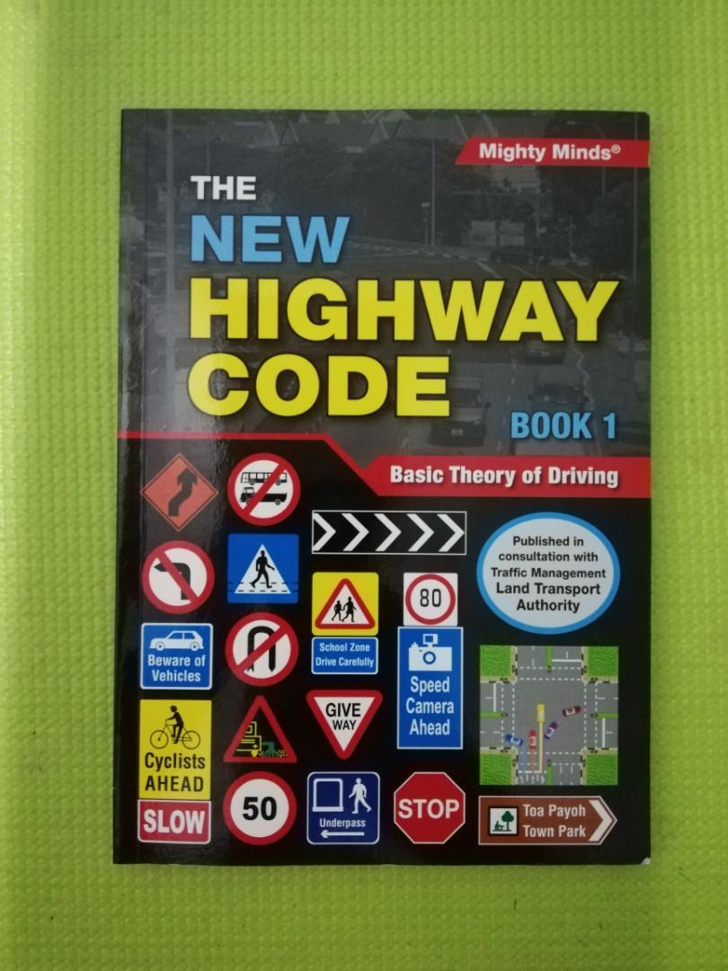 Basic Theory Test BTT 2019 The New Highway Code Book 1