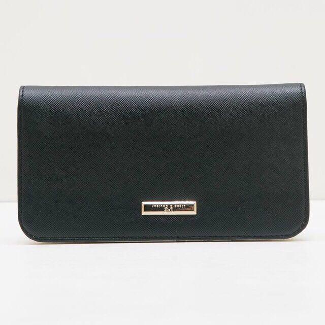 Bellina Black Wallet by LnC / Dompet / Wallets / dompet lipat hitam wanita