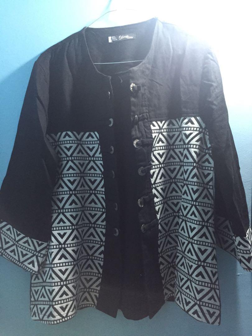 Black Motif Blazer