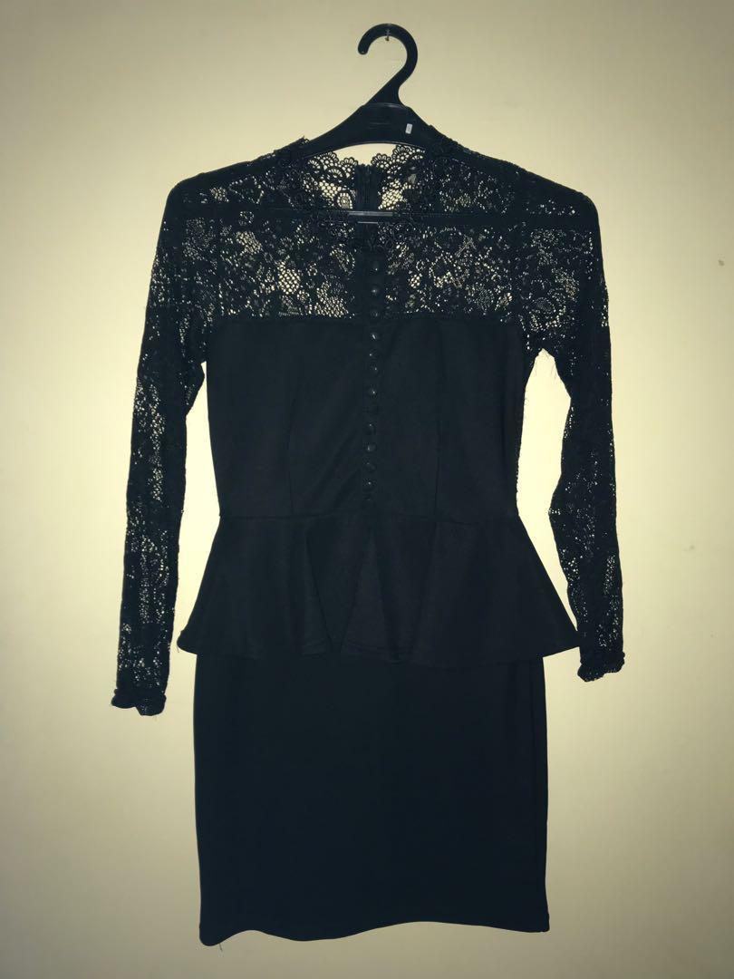 BLD dress hitam