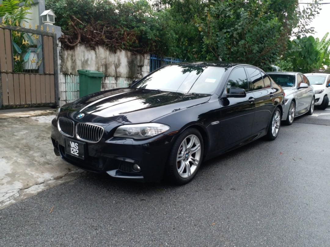 BMW 523i M SPORT 2.0 Twin Power Turbo Engine Japan Specs 2012