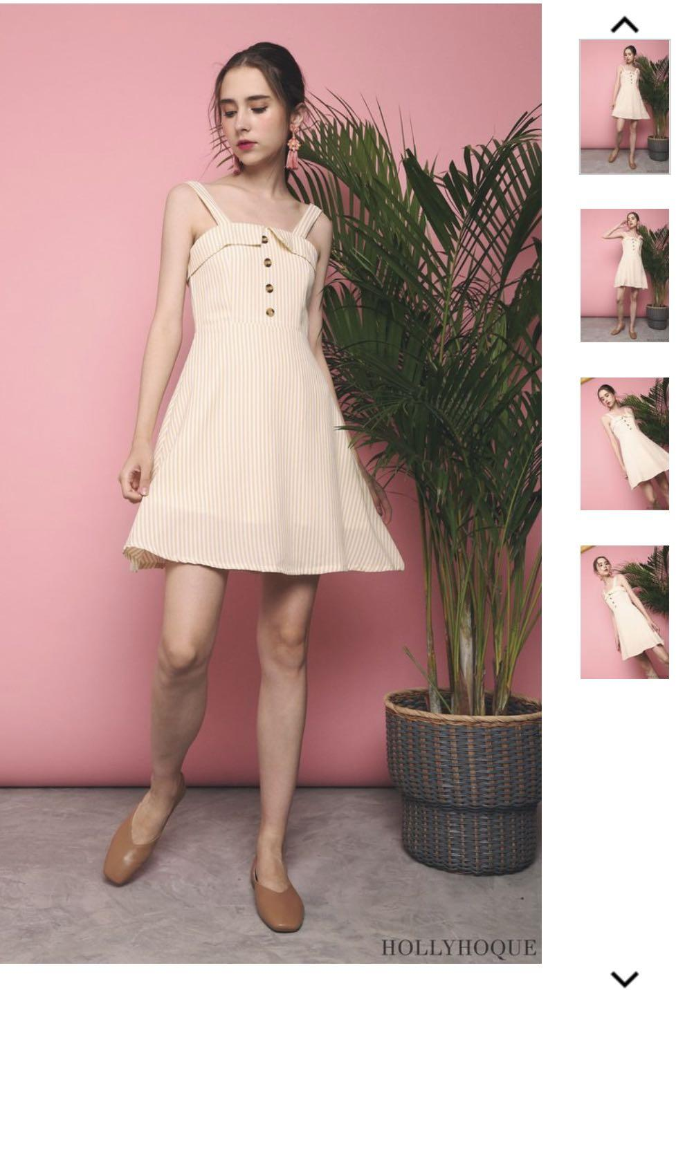 BN Hollyhoque Mercy Stripe Dress