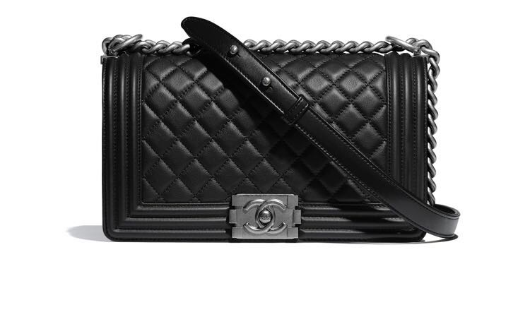 7794ebe1b3ac BRAND NEW Chanel Medium Classic Boy Bag, Luxury, Bags & Wallets ...