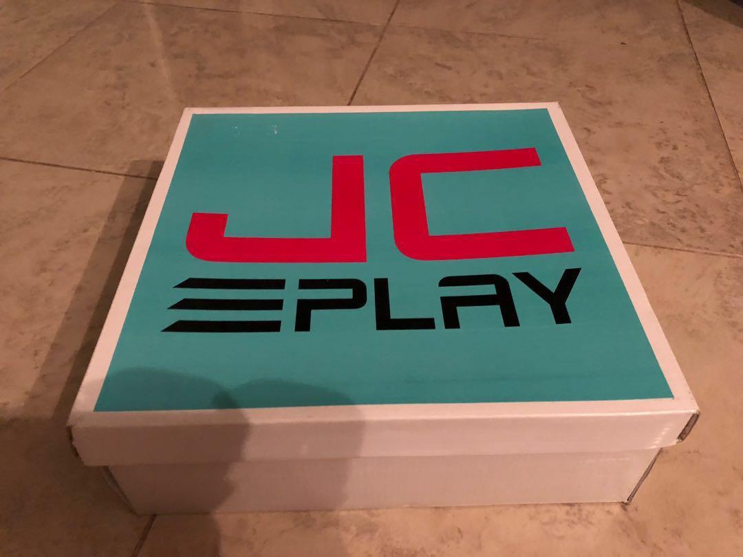 Brand New Jeffrey Campbell Platform Flatform Black Sneakers Miley Cyrus