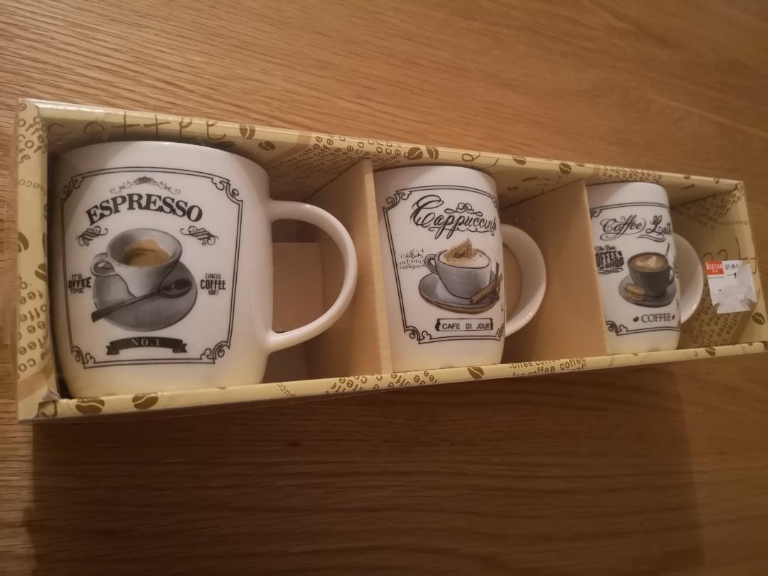 Coffee Mugs Gift Set