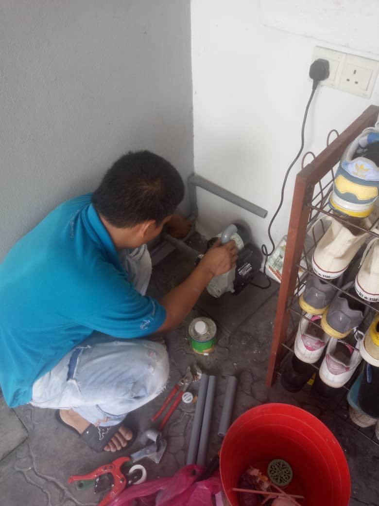 Contractor Installation Booster Water Pump And Plumber Selangor