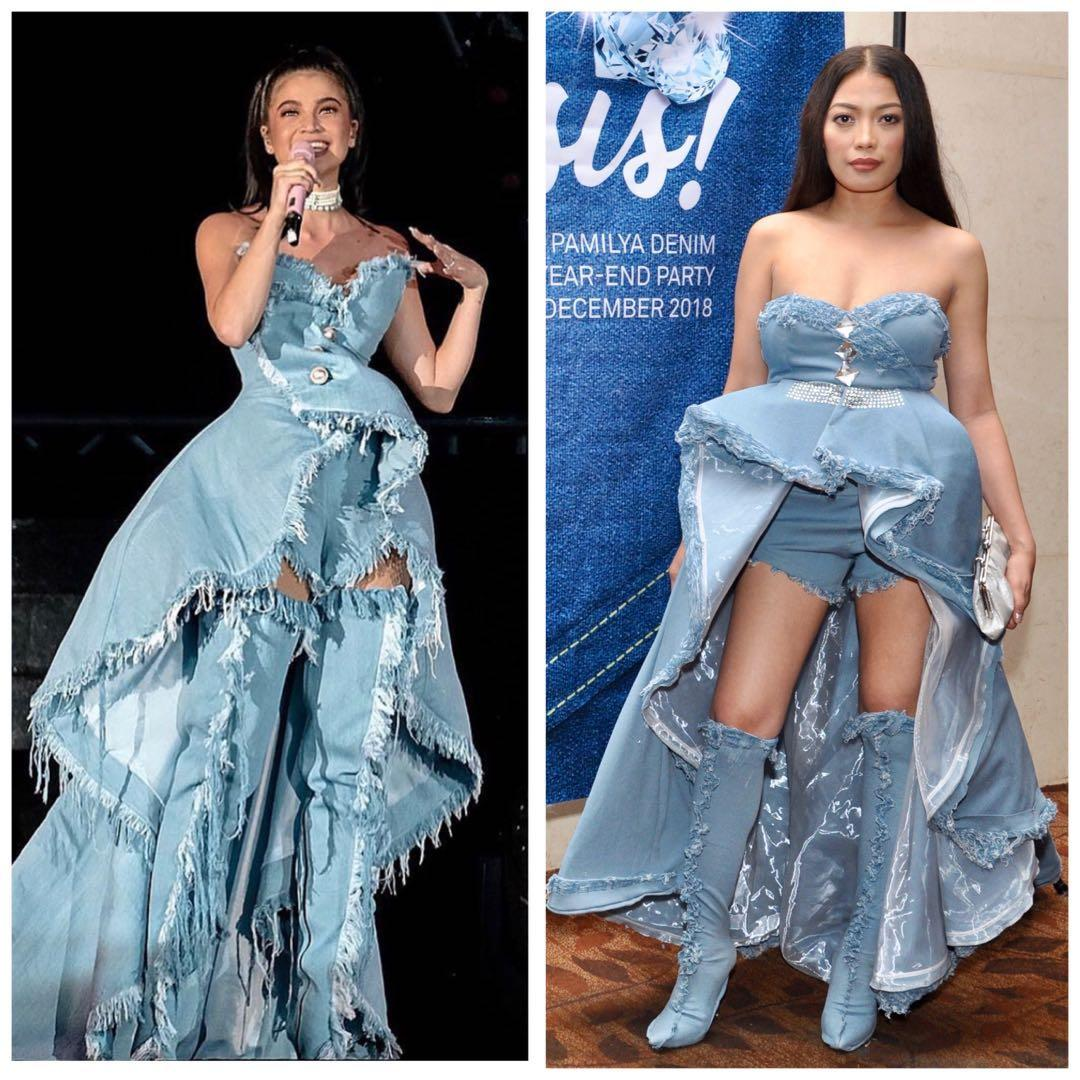 Denim And Diamonds Costume Women S Fashion Clothes Dresses Skirts On Carousell