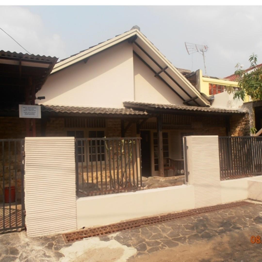 Disewakan Rumah Asri di Daerah Ciputat, Tangerang Selatan (DEKAT BINTARO DAN PD. RANJI)