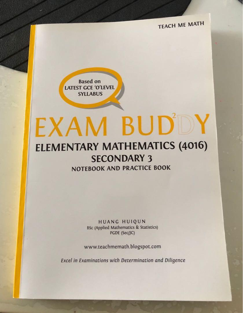 Elementary Mathematics Exam Buddy Assessment Book