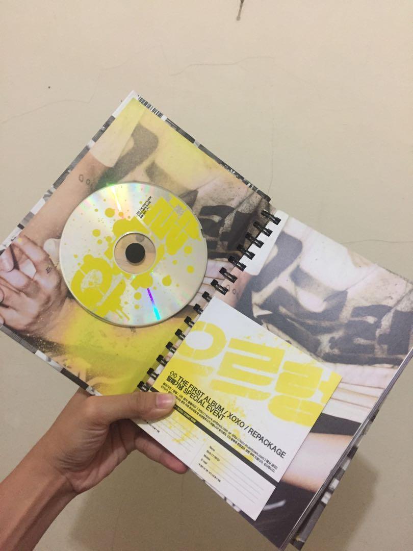 EXO The First Album XOXO Repackage Korean Version
