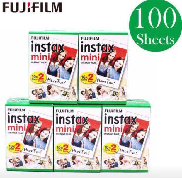 Fujifilm Instax Instant Mini Film 100 sheets