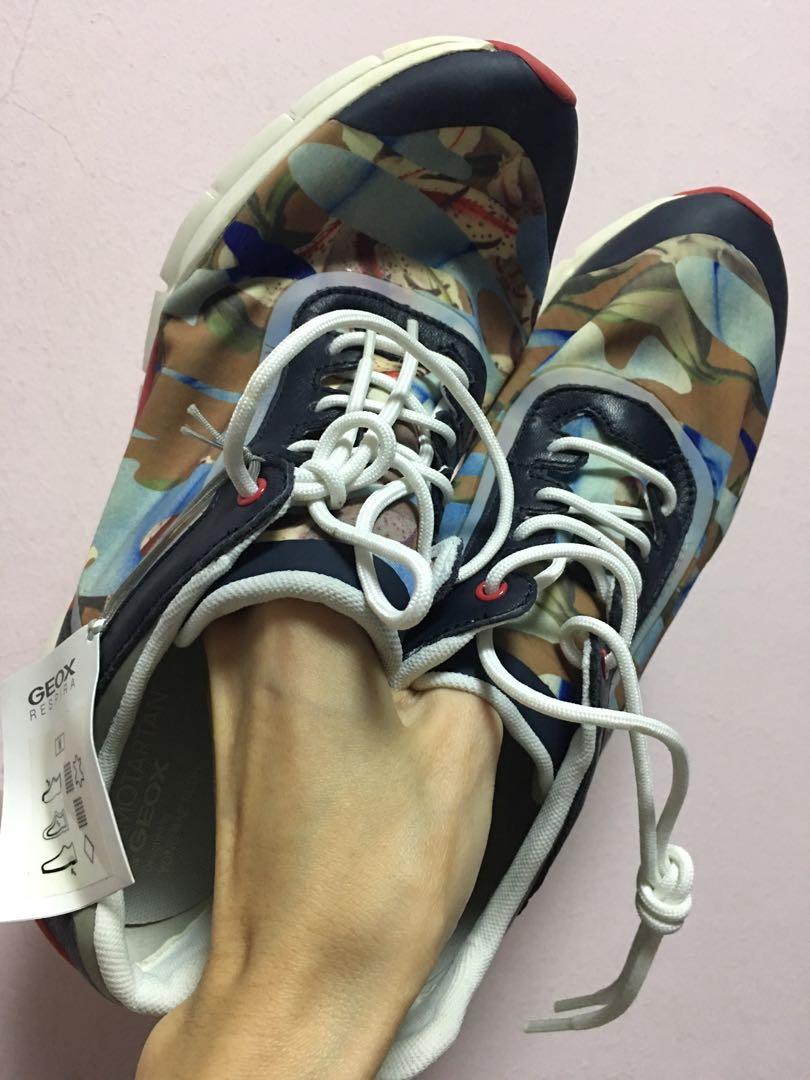 Geox camotartan sneakers yongbaeseok
