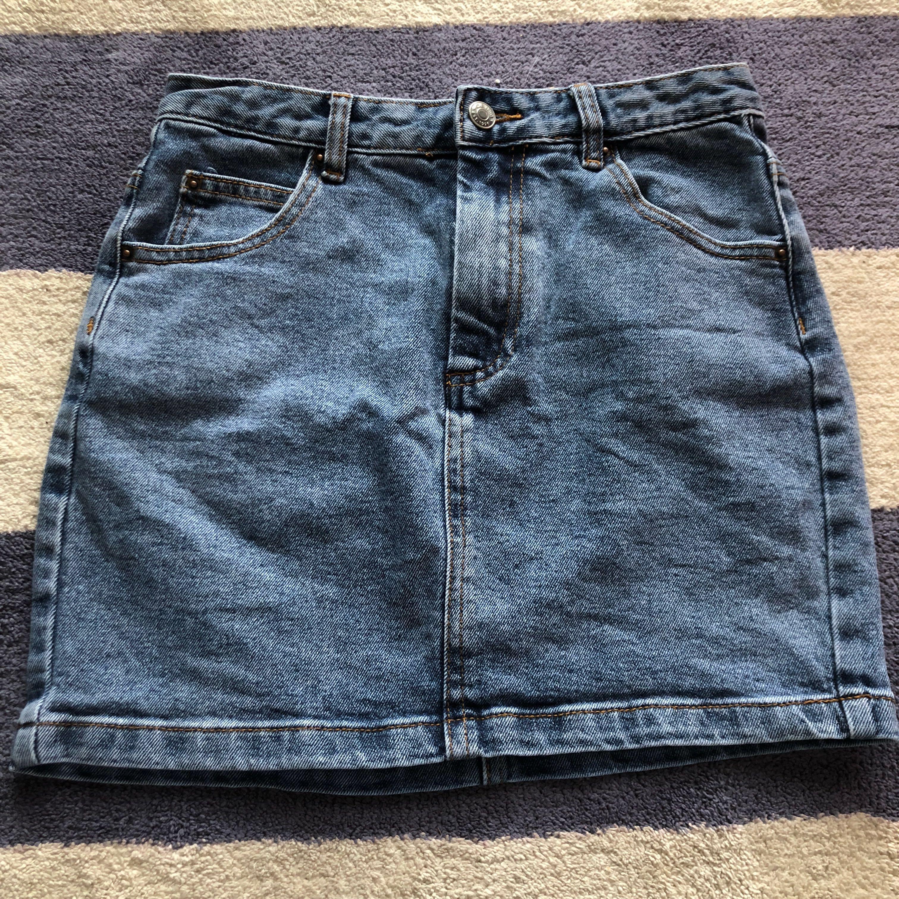Glassons denim skirt size 6