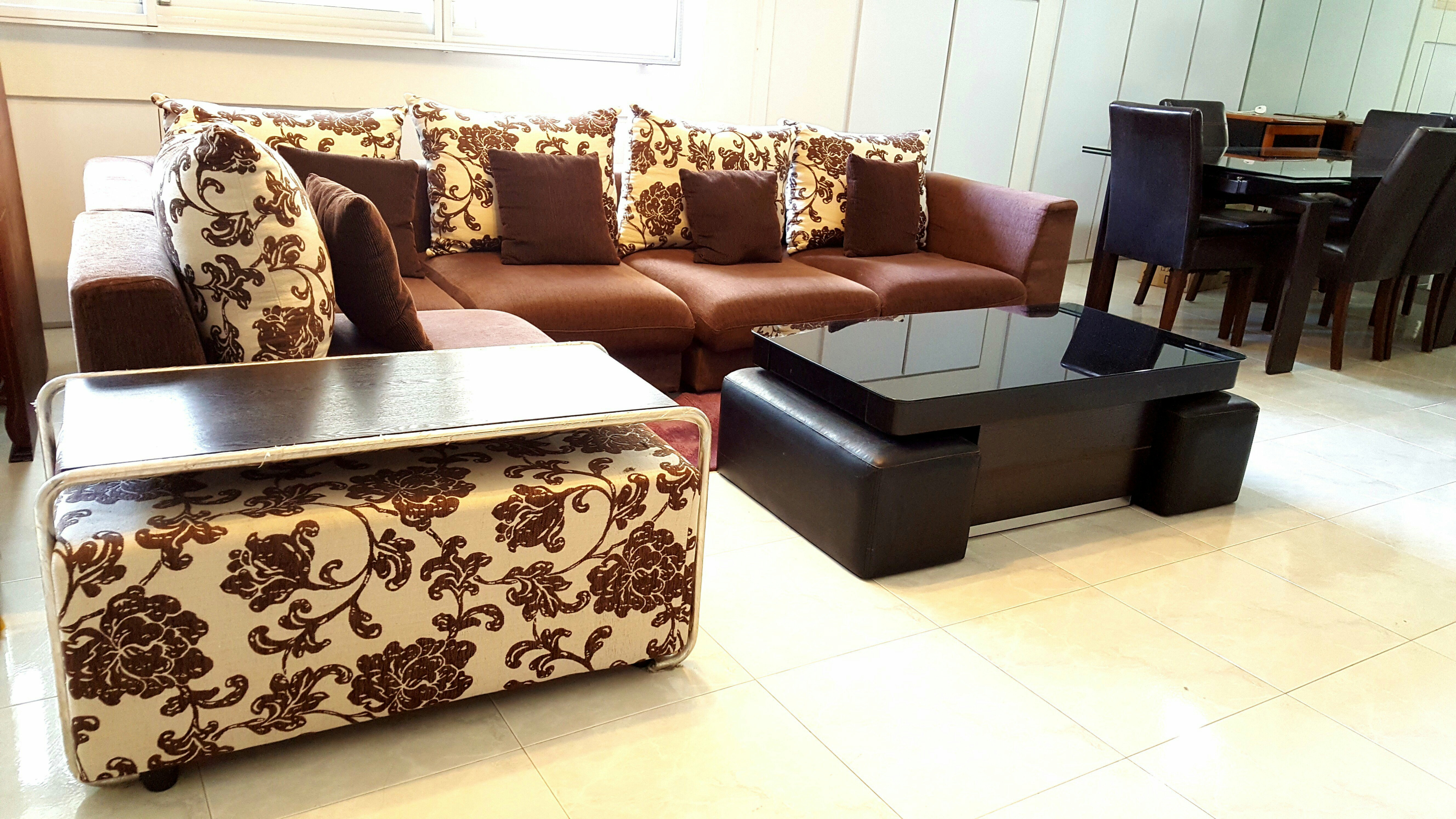 3 days special Big Discount Beautiful Sofa Set to let, Furniture ...