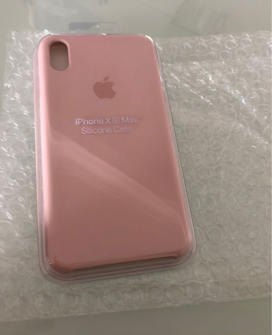 check out 0891a bed0c IPhone XS Max silicone case (pink sand)