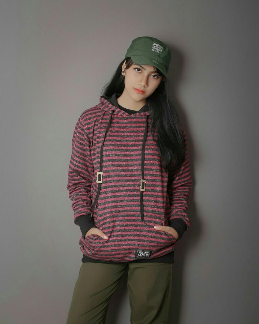 Jaket Sweater Hoddie Original Triplesix ( Free Aksesoris )