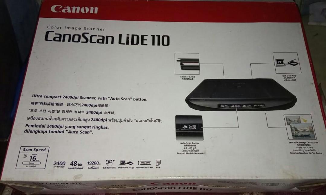 Jual CanonScan LiDE 110