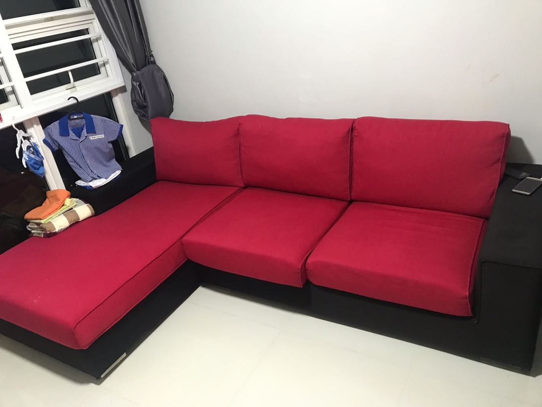 L Shape Sofa Furniture Sofas On Carousell
