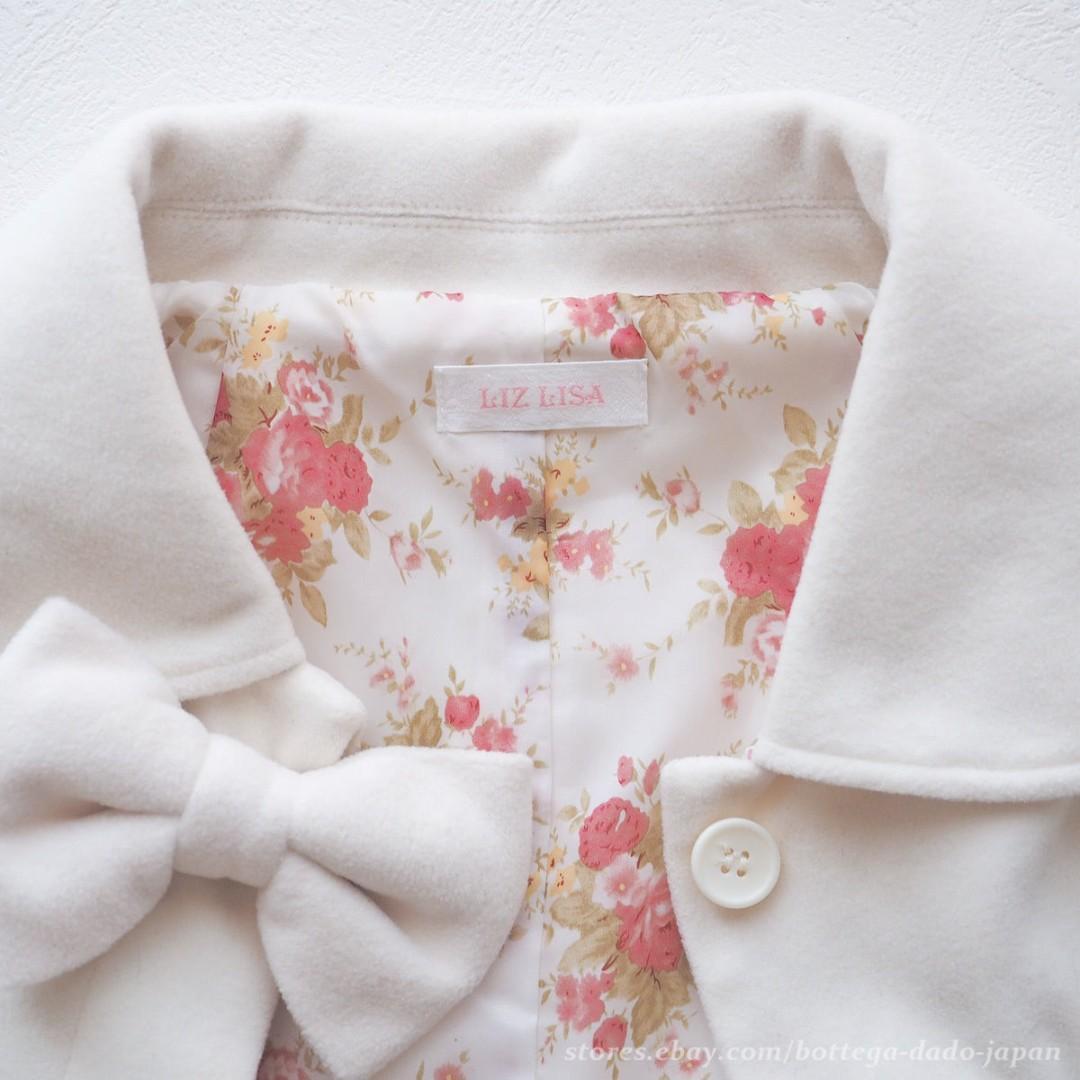 Liz Lisa Cute Hime Ivory White Cape Jacket with Bow