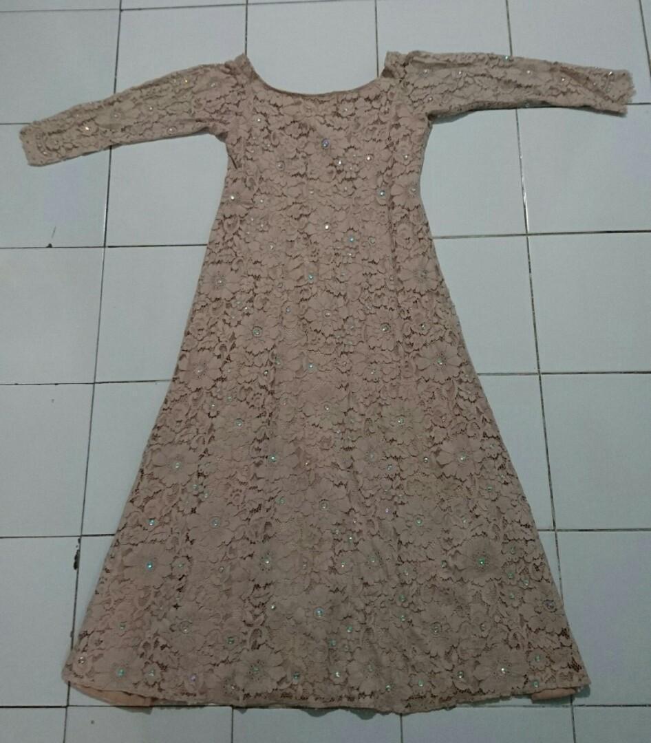 Long Dress Brokat