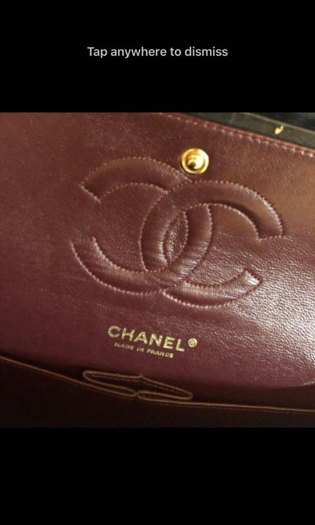 Medium Chanel flap authentic